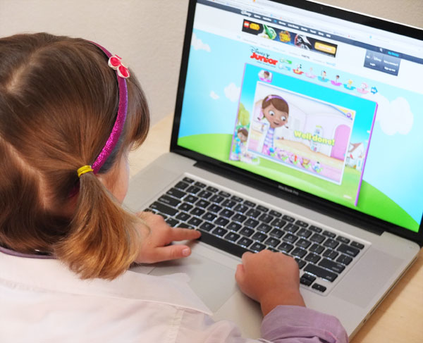Preschool computer games