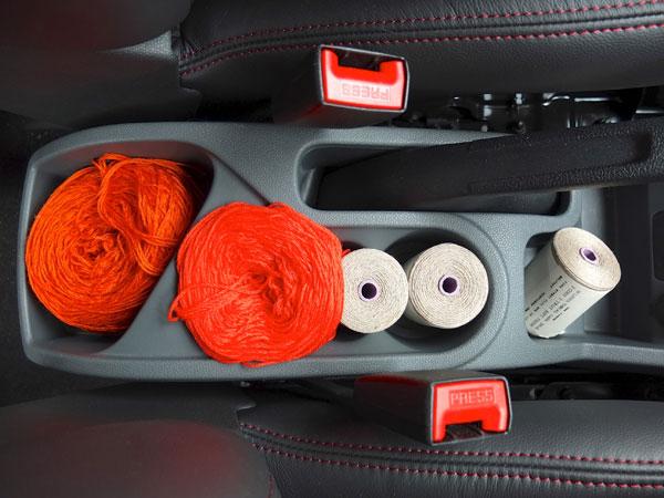 car yarn holder