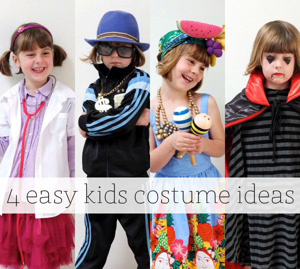 4 easy kids costume ideas on a budget  sc 1 st  My Poppet & Encourage Imaginative Play with Four Easy Kids Costume Ideas | My ...