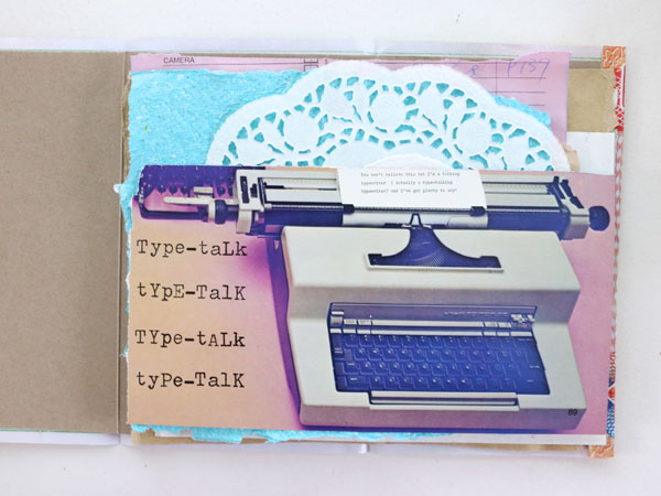 scrap paper notebook pages