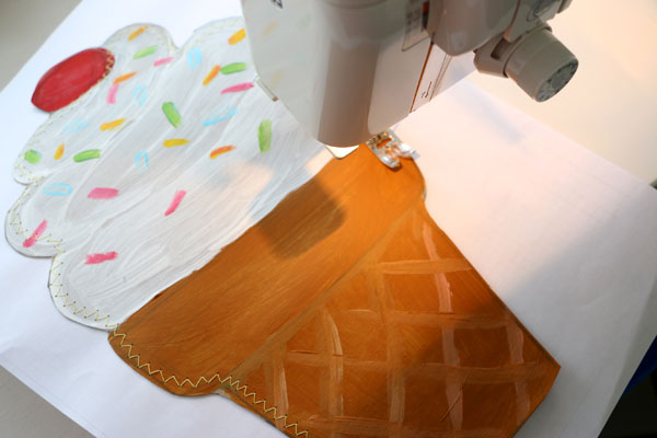 sew paper envelope