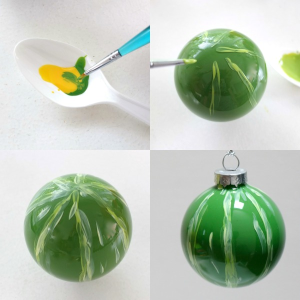 Make a strawberry christmas bauble mypoppet.com.au