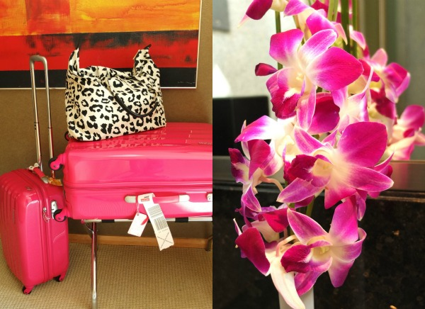 review Shangri-la hotel dubai hotel bags and flowers