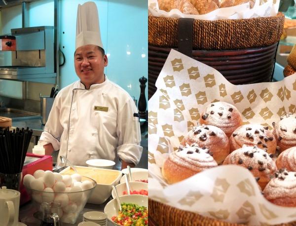 Breakfast buffet  review Shangri-la hotel dubai