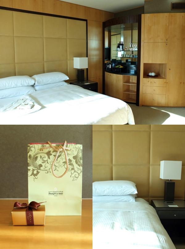 hotel room review  review Shangri-la hotel dubai