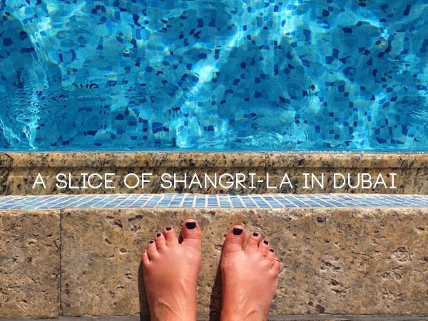 Shangri-la hotel dubai review