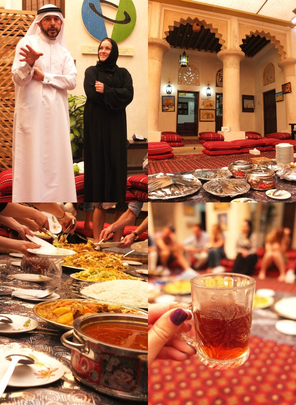 Lunch at the Sheikh Mohammed Centre for Cultural Understanding Dubai